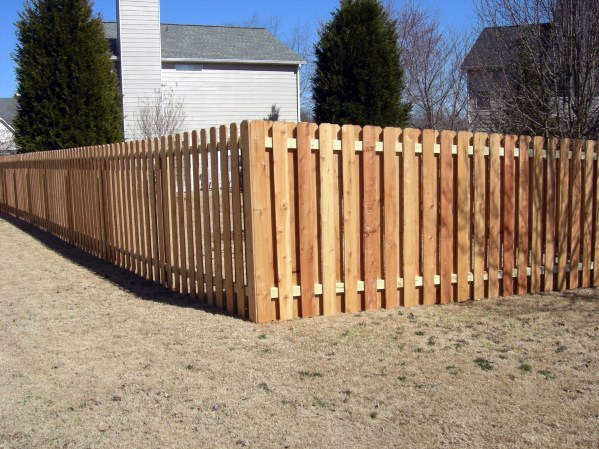 Traditional Exterior Ideas Wood Fence