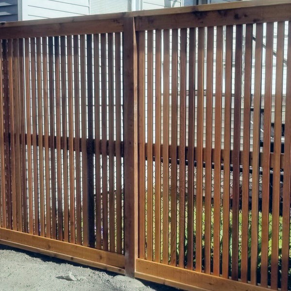 Wooden Fence Design Ideas