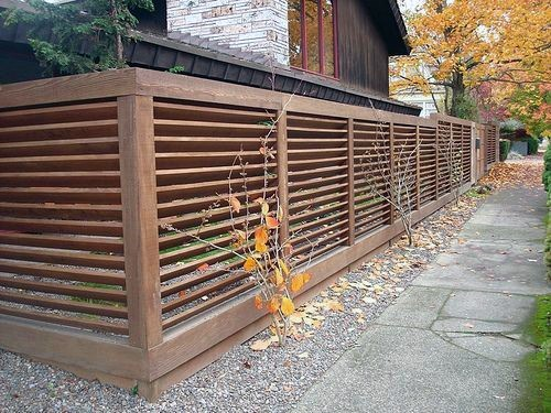 Wooden Fence Spectacular Ideas