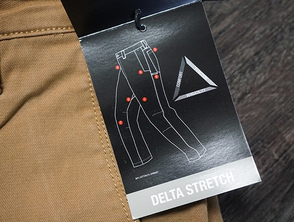 Mens Vertx Delta Strech Pants Highlights